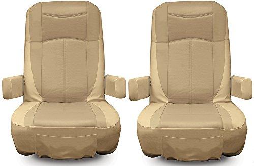 RV Designer C791 Two Tone Motorhome Seat Cover