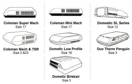 Adco 3016 White Size 16 Rv Air Conditioner Cover Rv